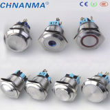 16mm Metal LED Waterproof Push Button Switch (Ring Lampe IP67)
