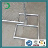 Cerca provisória galvanizada da ligação Chain da construção