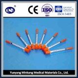 La siringa a gettare medica dell'insulina, con l'ago (1ml), con Ce&ISO ha approvato