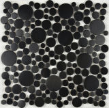 Teja irrgular acero inoxidable de plata del mosaico de la baldosa del (FYMG086)