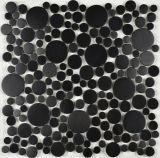 Irrgular silberne Edelstahl-Mosaik-Fliese für Fußboden-Fliese (FYMG086)