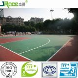 プラスチックバスケットボールコートのテニスコートは床を遊ばす