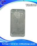 Снабжение жилищем крышки заднего днища телефона серебряное (чернь -017)