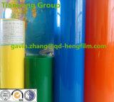 Película rígida do PVC da folha de prova revestida forte colorida para fazer cartões