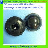 PIR 센서를 위한 광학적인 프레넬 렌즈 8003-3를 검출하는 신제품 장거리