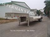 45t Semi Aanhangwagen van de Vrachtwagen van de Lading van het Platform van Lowbed/Lowdeck Lowbody de Lage