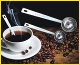 Cuiller à mesurer au café en acier inoxydable de 15 ml et 30 ml