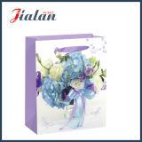 Lustre ou Matt stratifié avec le sac de cadeau de transporteur de papier de fleurs
