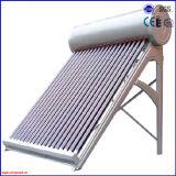 統合された予備加熱された銅のコイル加圧太陽給湯装置