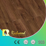 Грецкий орех V-Grooved Waterproof Laminate Wooden Flooring оптовой продажи 12.3mm E0 AC4
