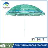 De nylon Schuine stand van de Stof en van het Staal voor de Paraplu van het Strand (sy1801-t)