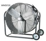 30 Ventilator van de Trommel van de Vloer van de duim de Industriële Rolling, de Ventilator van het Hoge Volume, de Ventilator van de Hoge Snelheid voor de Kelderverdieping van het Terras van de Garage van de Fabriek van de Winkel