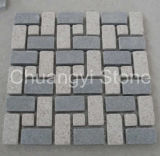 G654/G682/G684/G603ペーバーのための中国の花こう岩の玉石または景色の石または庭の石か屋外の装飾