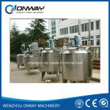 Homogeneização de mistura do emulsivo do vácuo da solução do açúcar do misturador da máquina de mistura do petróleo do tanque da emulsificação da camisa de aço inoxidável do Pl