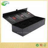 Коробка подарка вина роскошной горячей бумаги картона сбывания магнитная складная с вставкой (CKT- CB-117)