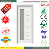 Hölzerne MDF-Tür-hölzerne Tür PVC-Tür