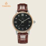 Horloges 72213 van de Mensen van de Vrije tijd van de Riem van het Leer van de Stijl van de manier Nieuwe Waterdichte