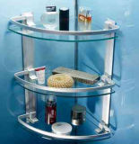 Tempered стекло полки для комнаты ливня ревизованной ANSI SGCC
