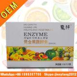 Pillules d'or de régime de perte de poids d'enzymes de fruits et légumes