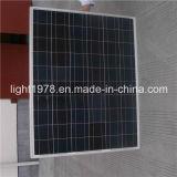 A venda quente galvanizou a luz de rua solar do diodo emissor de luz de 8m Pólo 40W com braços dobro