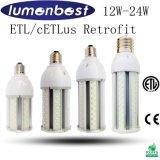 Bombilla del jardín de la luz del maíz del paisaje de la UL ETL LED