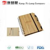 Het promotie Notitieboekje van het Bamboe met Pen