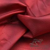 Agua y de la manera de la chaqueta tela catiónica tejida chaqueta Viento-Resistente 100% del filamento del hilado del poliester del telar jacquar de la tela escocesa abajo (X030)