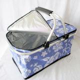 Panier plus frais campant extérieur thermique isolé compressible dans des sacs de pique-nique