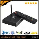 El mejor Kodi 1080 4k Media Player ultra hizo salir el rectángulo androide de la TV