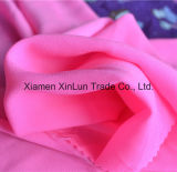 Gesponnenes buntes Druck-Polyester-Chiffon- Gewebe für Kleid/Hemd