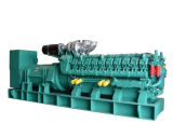 Googol 2400kw 3000kVA Diesel Generator MW Power Plantを平行にすること