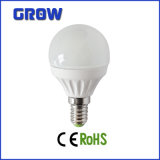 G45 6W / 7W Dimmable Light E27 / E14 Base de economia de energia de lâmpada LED