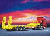 Semis-remorque chaudes de la vente Cimc d'approvisionnement professionnel pour des conteneurs pour Machiners 30-80tons