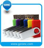Kundenspezifischer fördernder Schwenker USB-greller Fahrer 64GB mit Ihrem Firmenzeichen