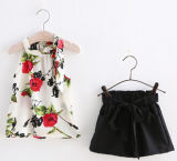 Hot Sale Girl Dress in Fashion Children Clothing for Summer (SQD-127)