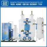 Generador Psa del gas del nitrógeno del oxígeno de la pureza elevada