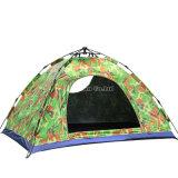 Vente de tente de 2 personnes, tente campante de camouflage automatique de vitesse de loisirs