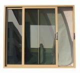 Puerta deslizante del perfil de aluminio revestido del polvo con el bloqueo especial Kz322