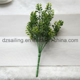 플라스틱은 떠난다 결혼식 또는 홈 또는 정원 훈장 (SF16925)를 위한 Aritificial 꽃을