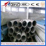 Pipe de soudure de l'acier inoxydable de la surface 201 304 lumineux pour la balustrade