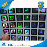 Seucritiy antifalsificación que empaqueta la etiqueta engomada de encargo del holograma de la seguridad de la etiqueta engomada del laser de la impresión 3D