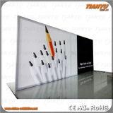 Marco de aluminio publicitario portable de la materia textil de la visualización
