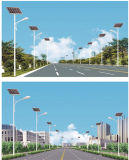 5m 6m 30W極度の明るいLEDの太陽街灯