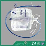 2600+200ml medidor dobro grande da urina da válvula de entrada da amostragem do gancho