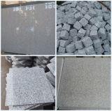 磨かれた灰色の花こう岩の平板G603