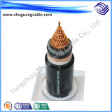 Mv XLPE Insulated PE Sheathed Halogen Free Low Smoke Steel Tape Armored Electric Power Cable