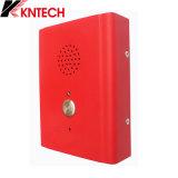 Kntech Knzd-13는 전화 벽 마운트 긴급 전화를 방수 처리한다
