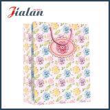 Естественный мешок шоколада бумаги розницы веревочки ручки хлопка свежих цветков