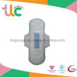 Serviette hygiénique ultra-mince d'anion de peau de fin de doux de coton