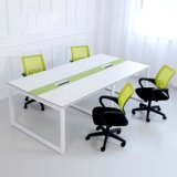 Aluminum Frame (SZ-MTT081)를 가진 사무실 Furniture Melamine Rectangular Conference Table